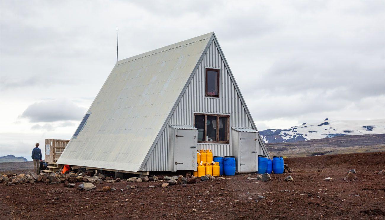 Baldvinsskali Hut