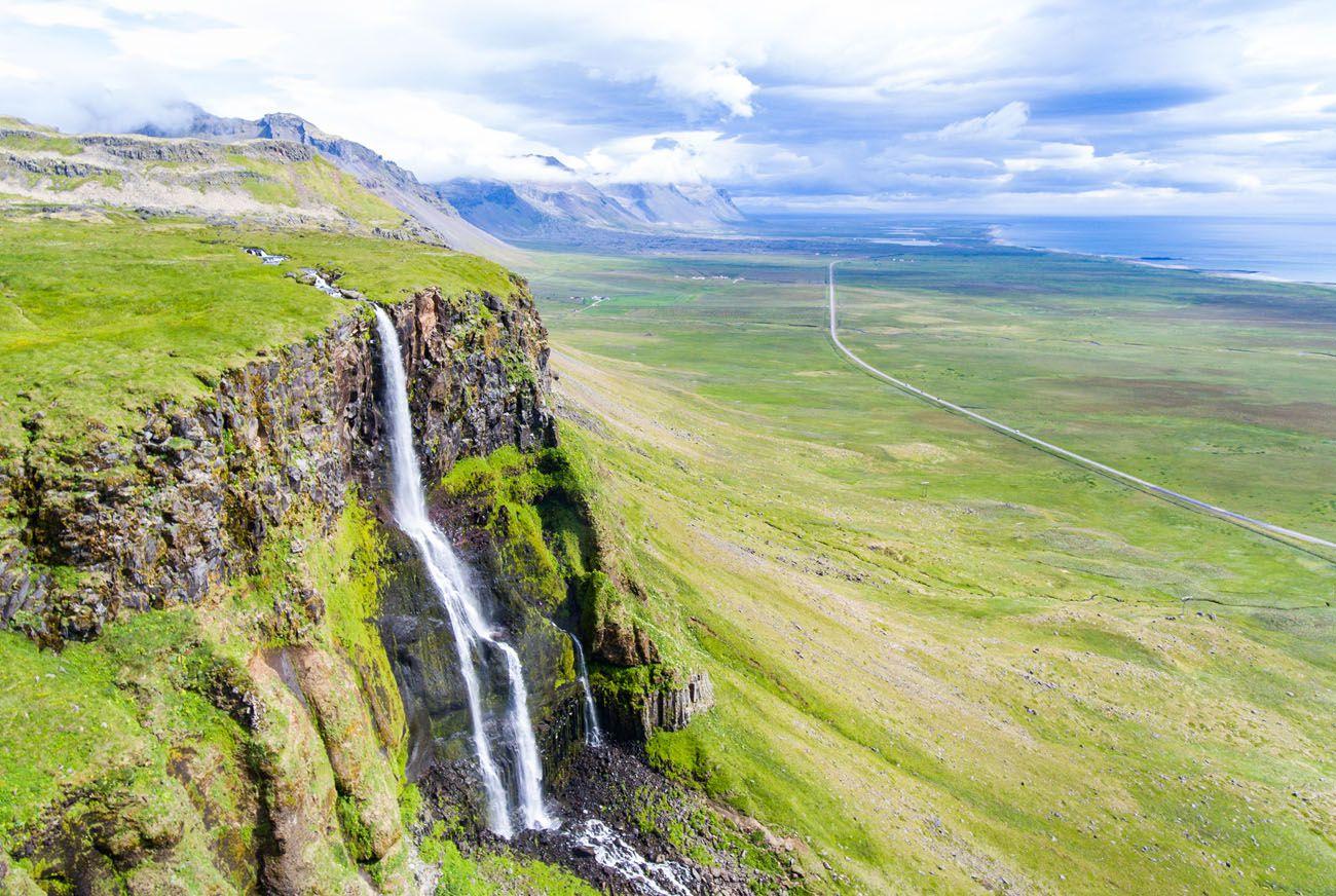 Bjarnarfoss Snaefellsnes Peninsula