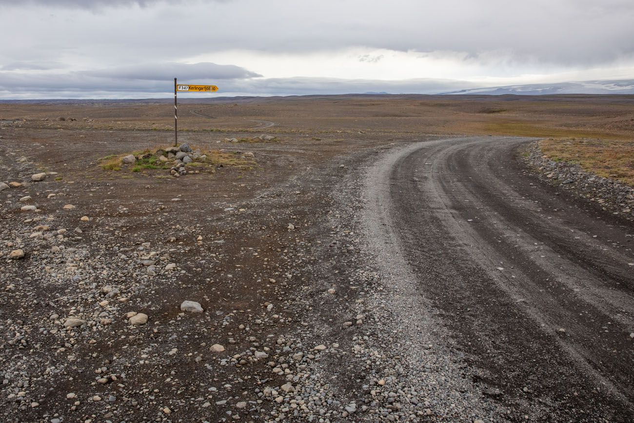 F Road to Kerlingarfjoll