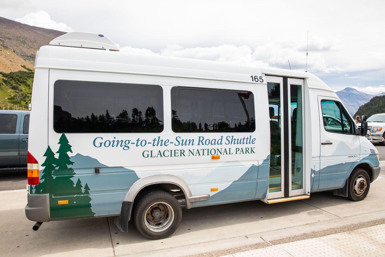Glacier Park Shuttle