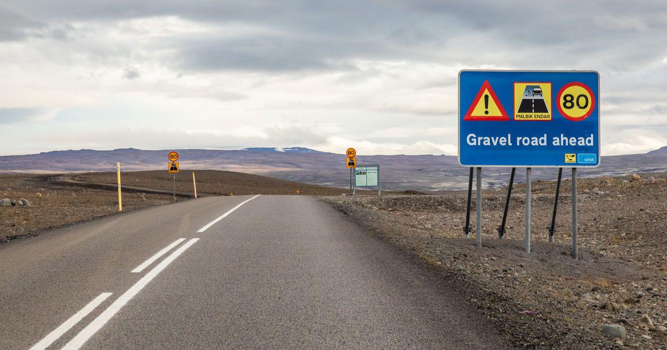 Gravel Road Iceland Travel Tips