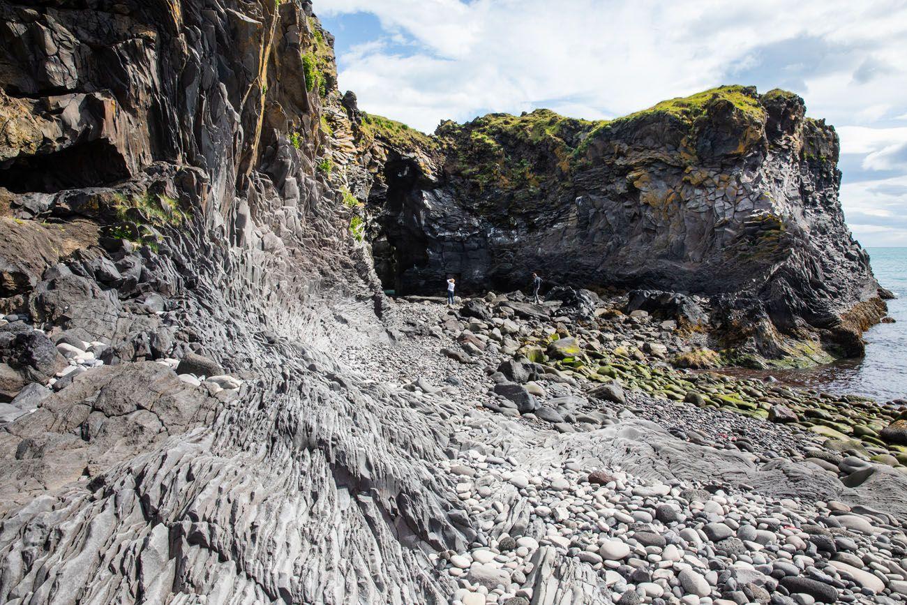 Hellnar Cove