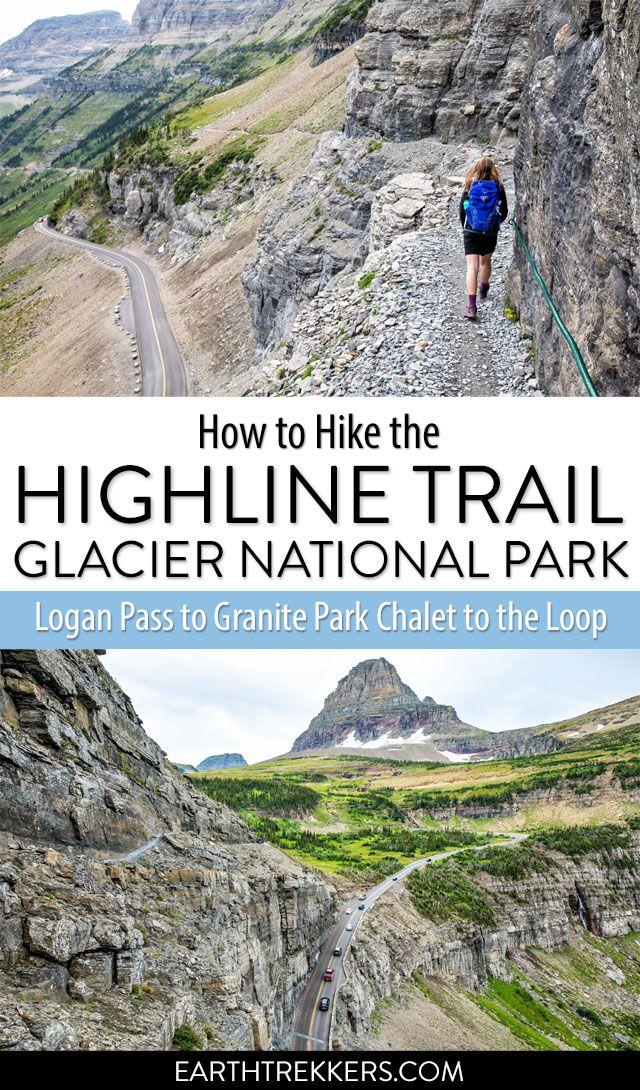 Highline Trail Hike Glacier National Park