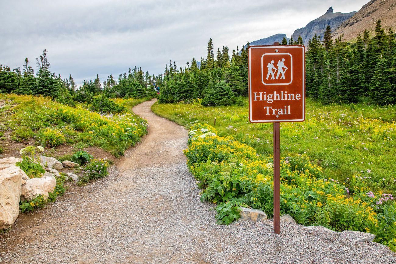 Highline Trail Start