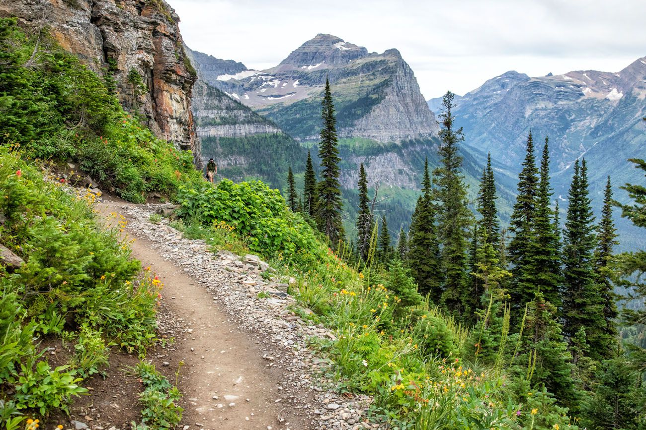 Highline Trail in August