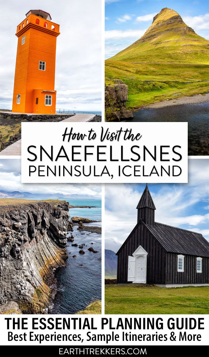 Iceland Travel Guide Snaefellsnes Peninsula