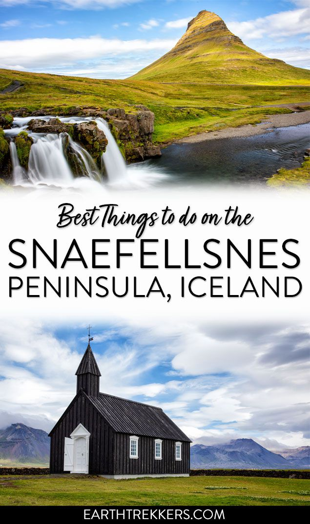 Snaefellsnes Peninsula Iceland to do list
