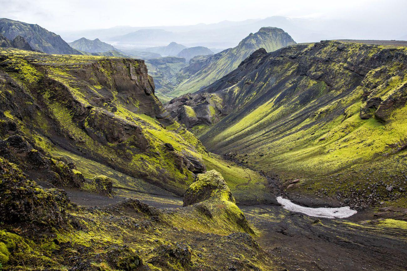 Thorsmork Iceland