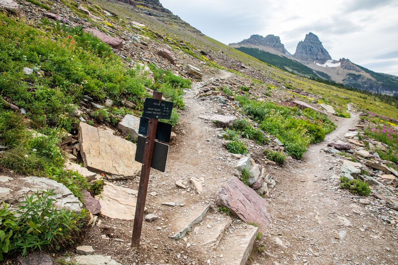 To Grinnell Glacier Overlook