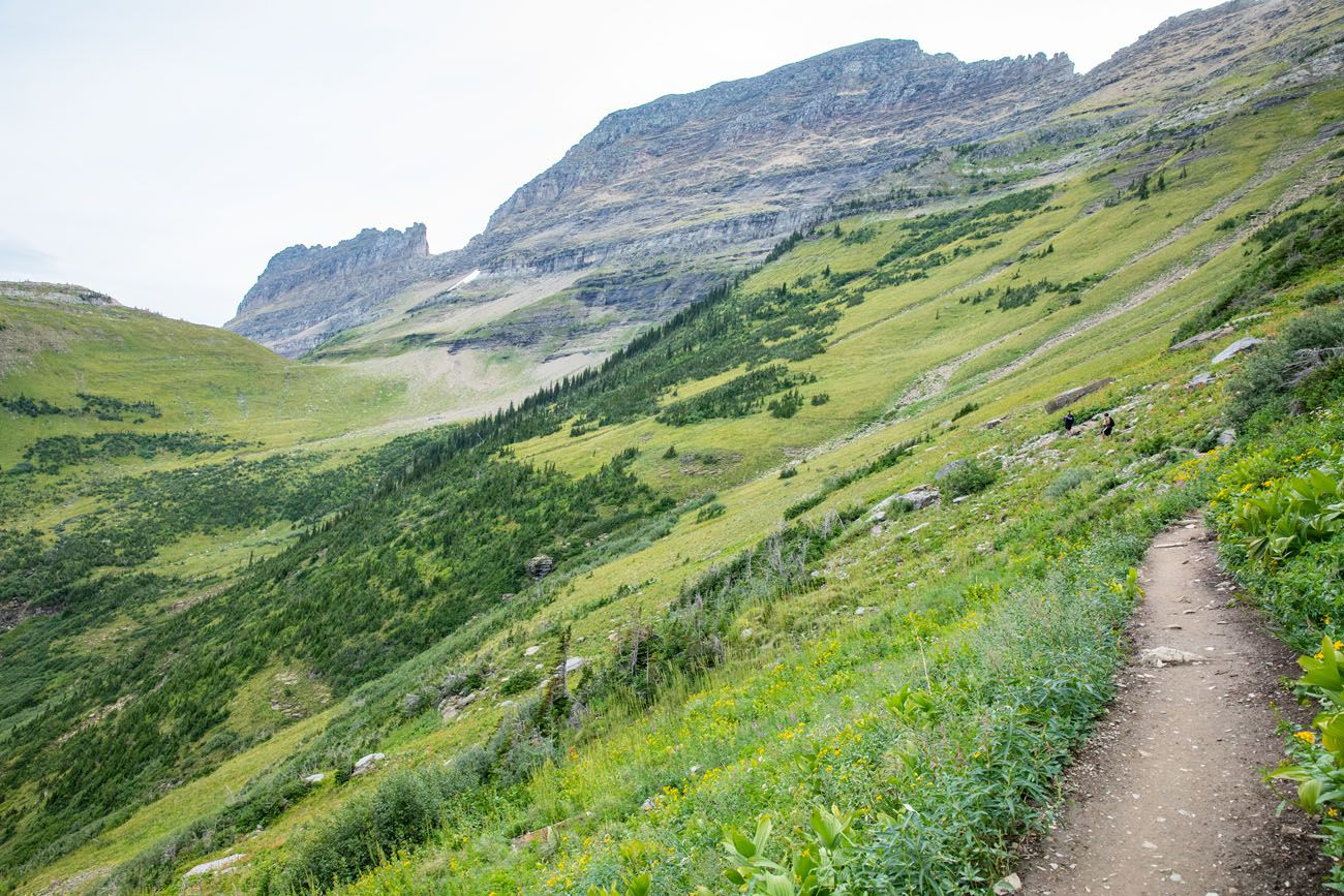 To Haystack Pass