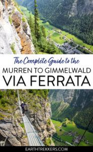 Via Ferrata Murren to Gimmelwald Switzerland