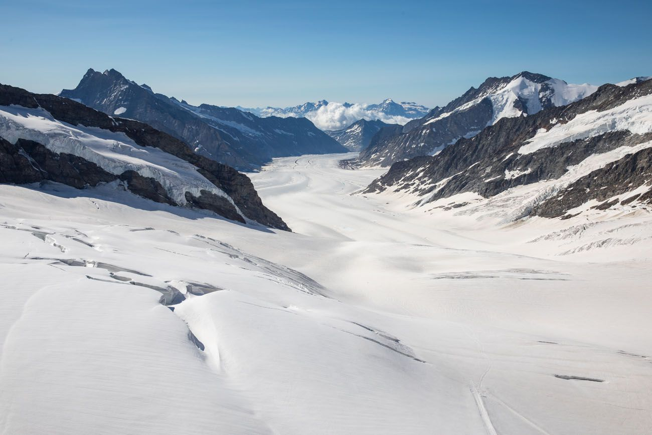 Aletsch Glacier View