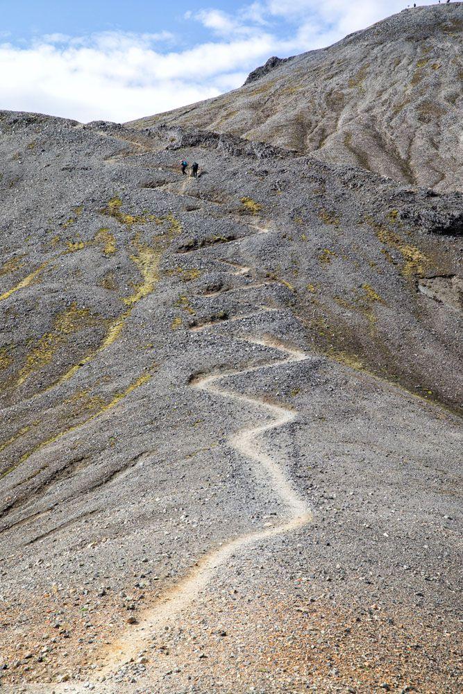 Blahnukur Trail Iceland
