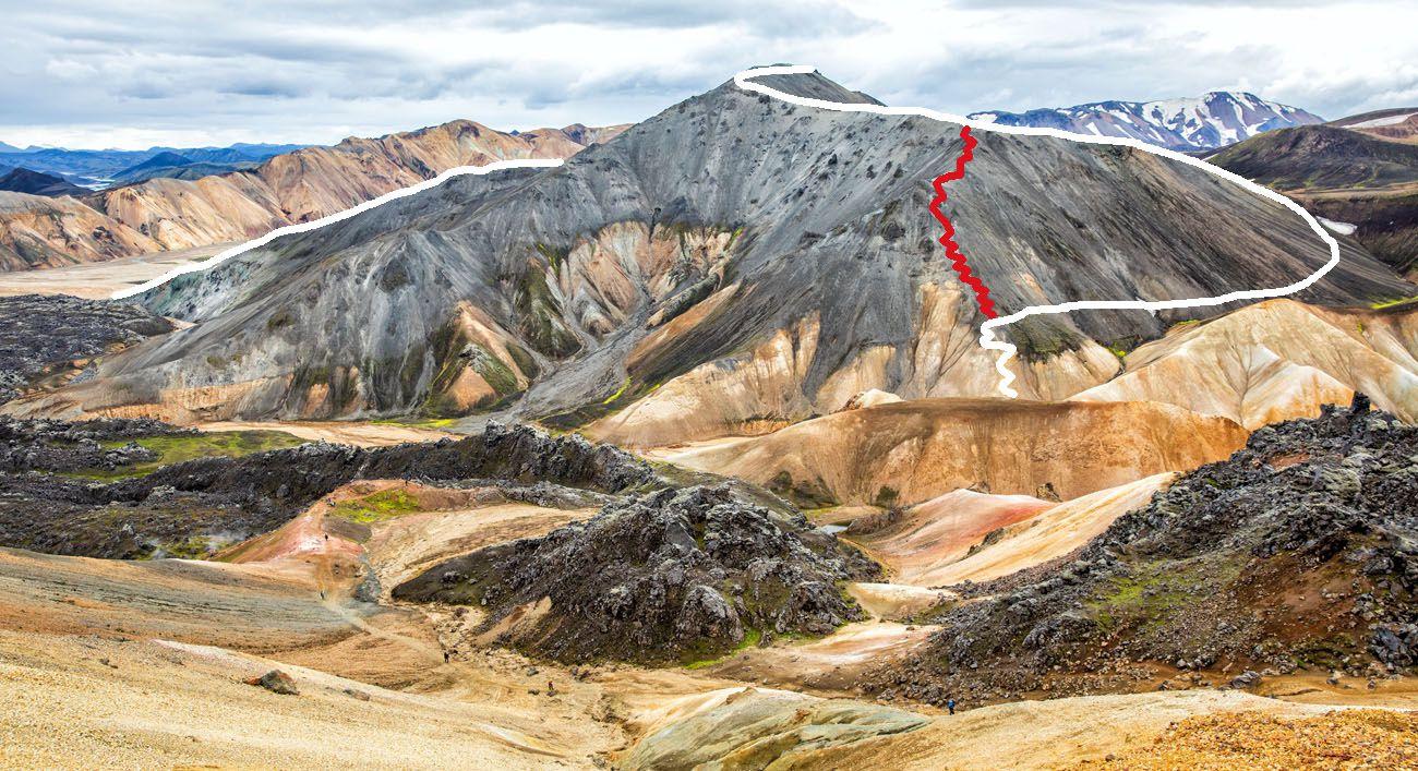 Blahnukur Trail Route