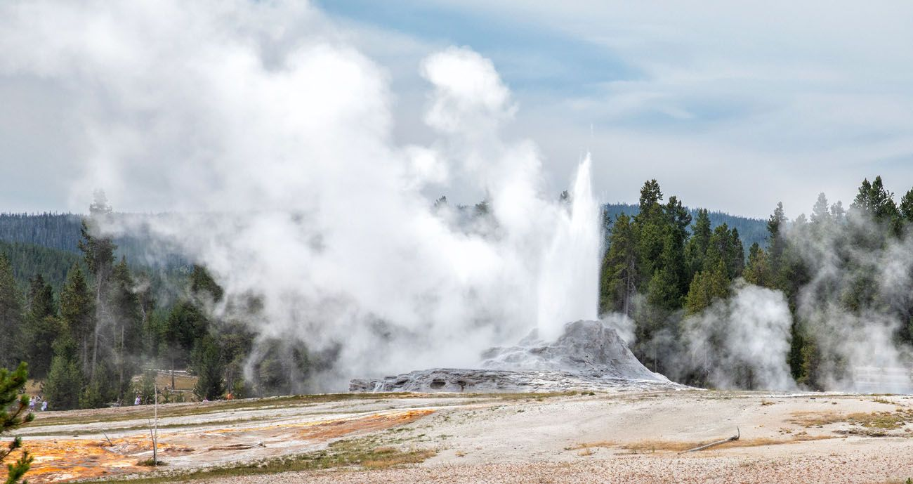 Castle Geyser best things to do in Yellowstone
