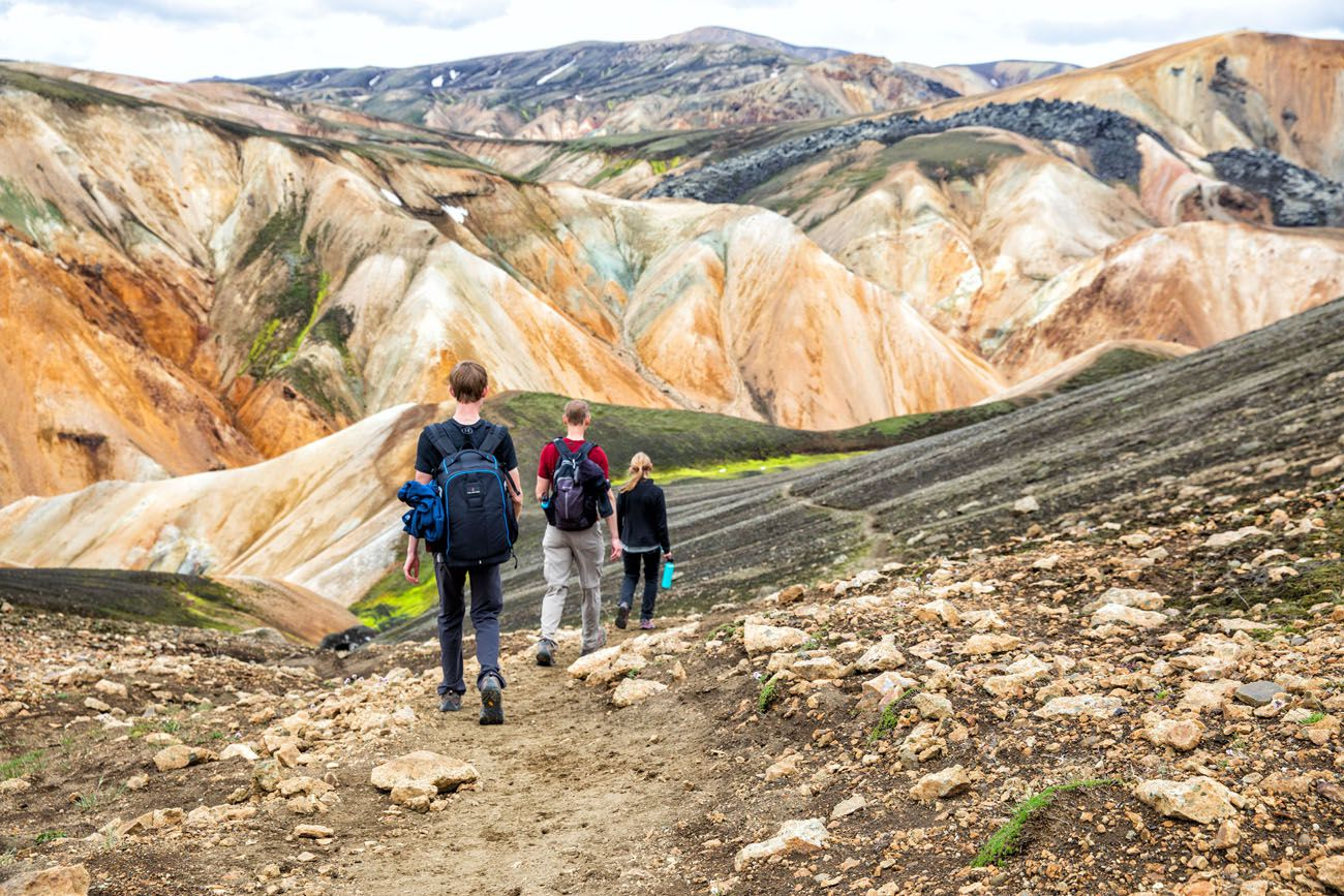 Day Hike Landmannalaugar