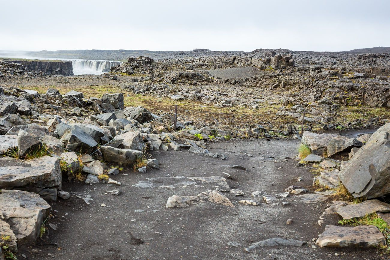 Dettifoss West Side Trail