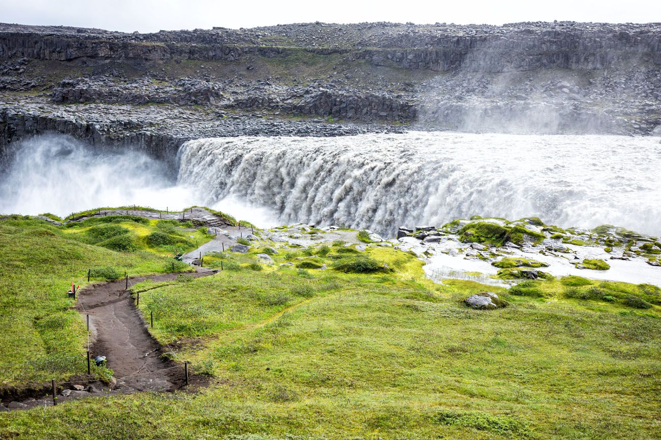 Dettifoss West Side