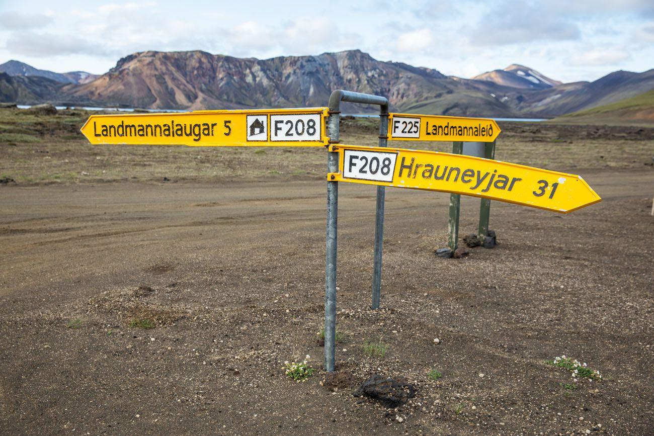 F208 Sign