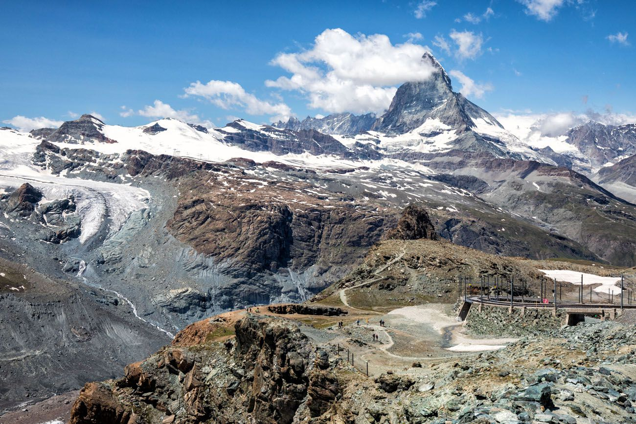 First-View-of-Matterhorn.jpg.optimal ▷ Cómo visitar Gornergrat y caminar a Riffelberg, Zermatt, Suiza