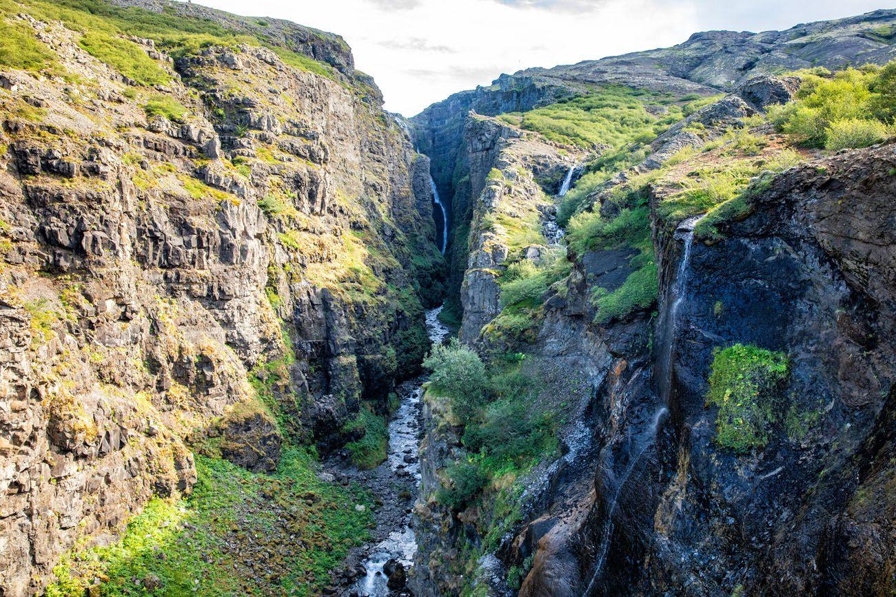 Glymer-Falls-View.jpg.optimal ▷ Cascada de Glymur: la guía completa de senderismo