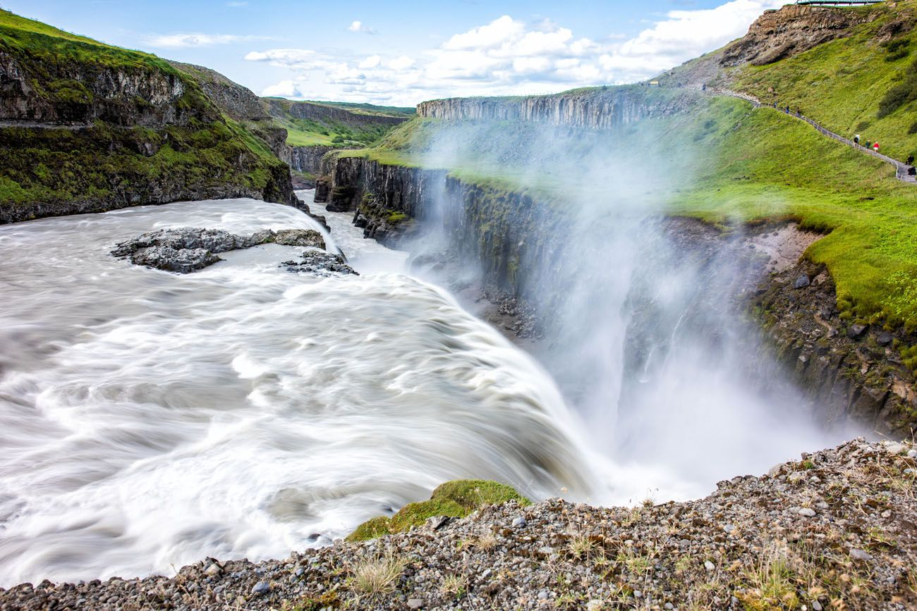 Gullfoss Waterfall best things to do in Iceland
