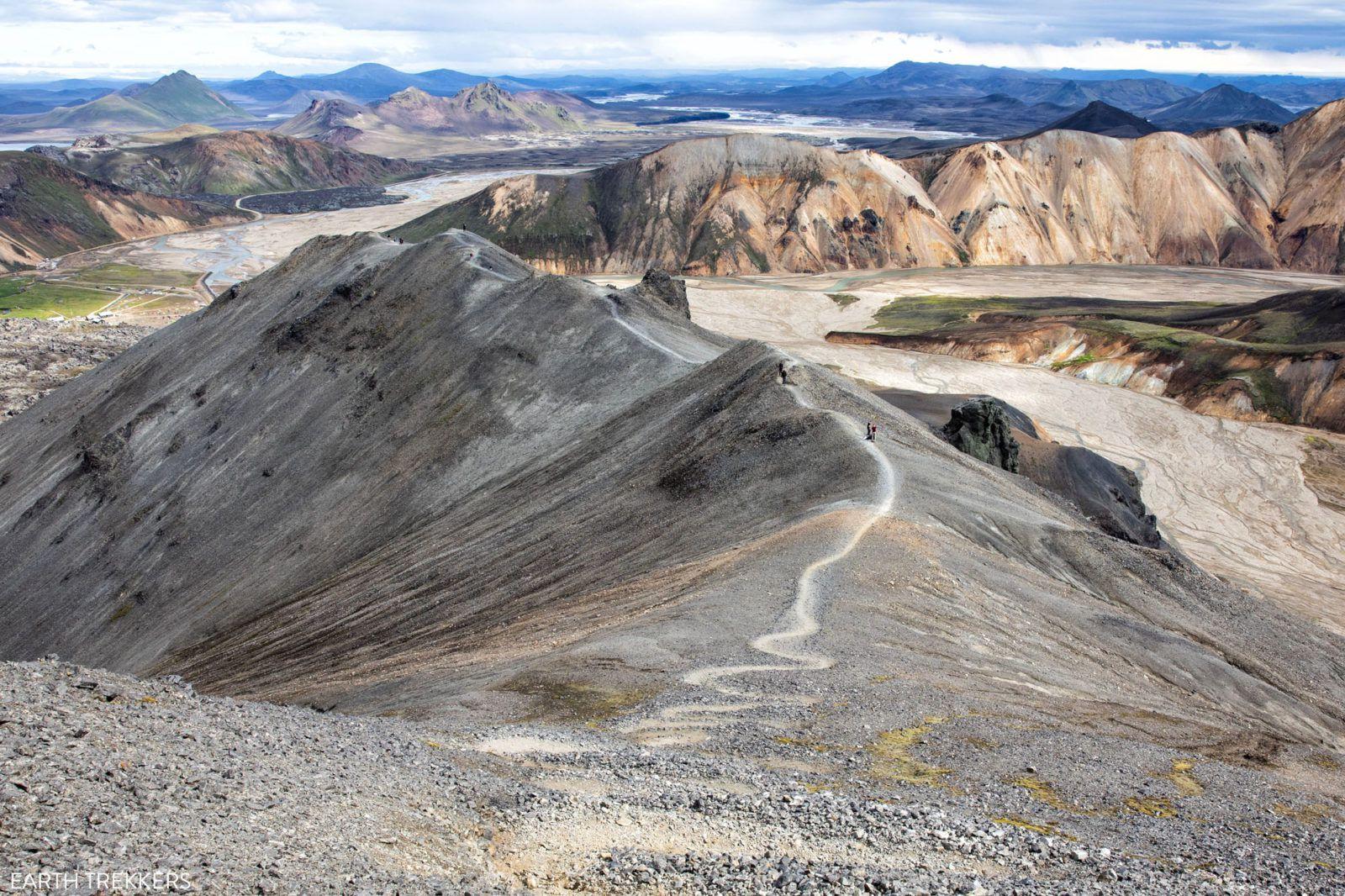 Hike Blahnúkúr Iceland
