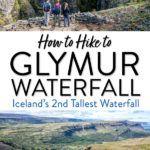 Hike Glymur Waterfall Iceland