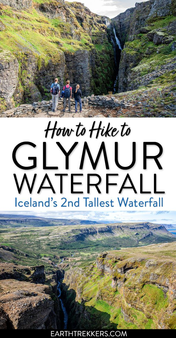 Hike Glymur Waterfall Iceland