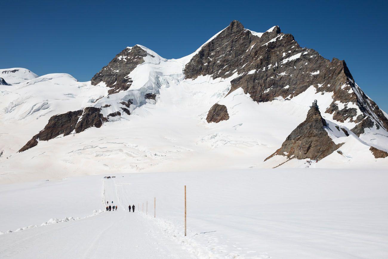 Hike Jungfraujoch