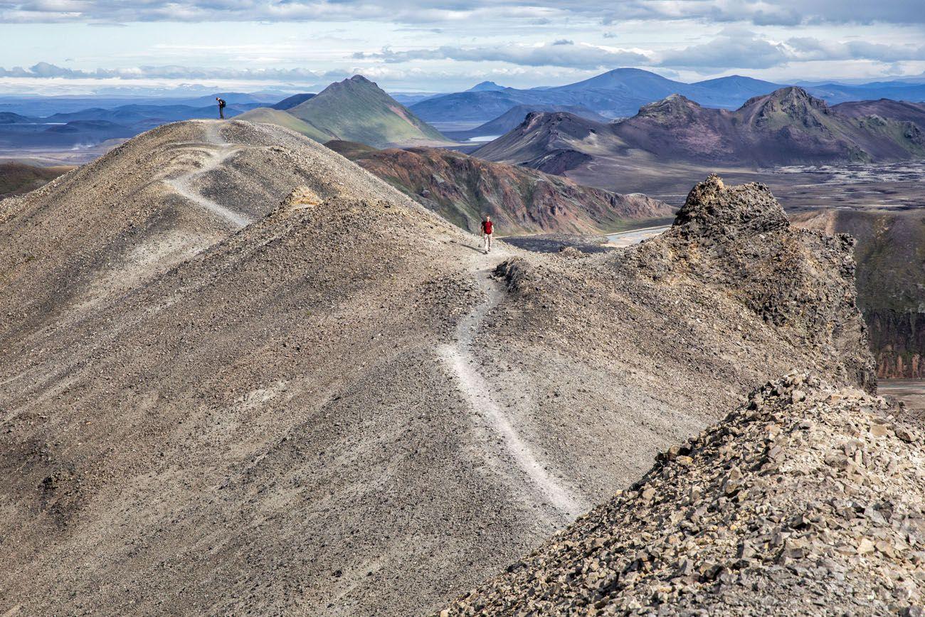 Hike Landmannalaugar