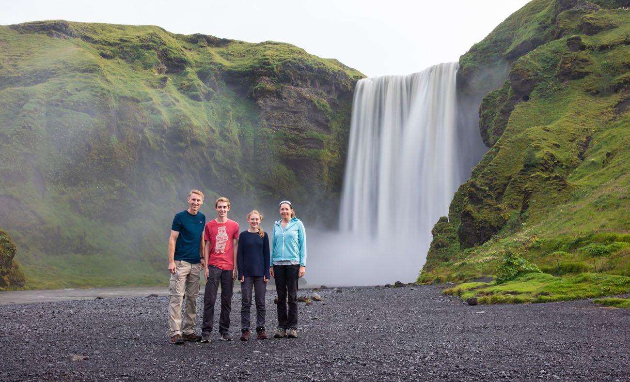 Iceland Bucket List Skogafoss