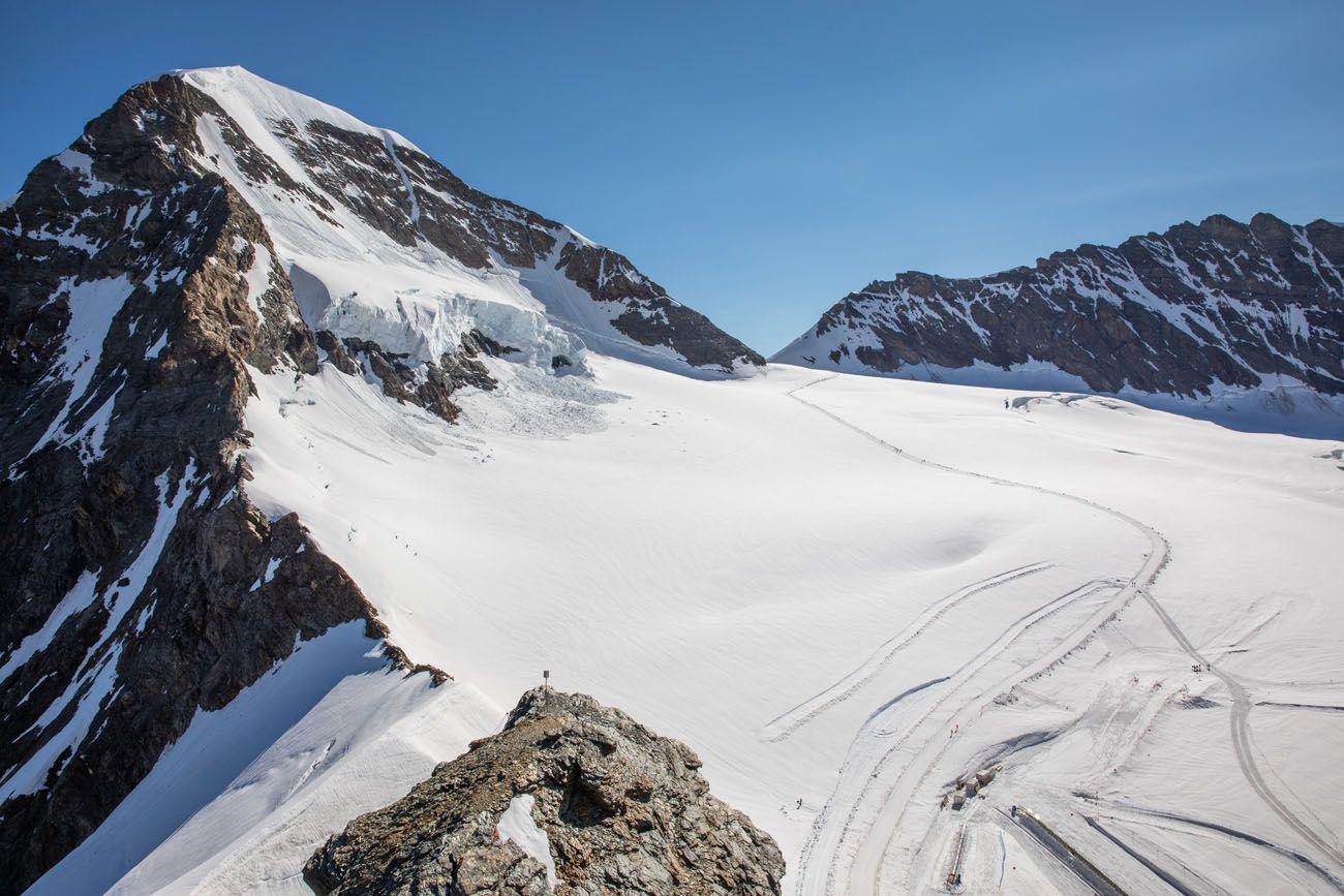Jungfraujoch Trail to Monchsjochhutte