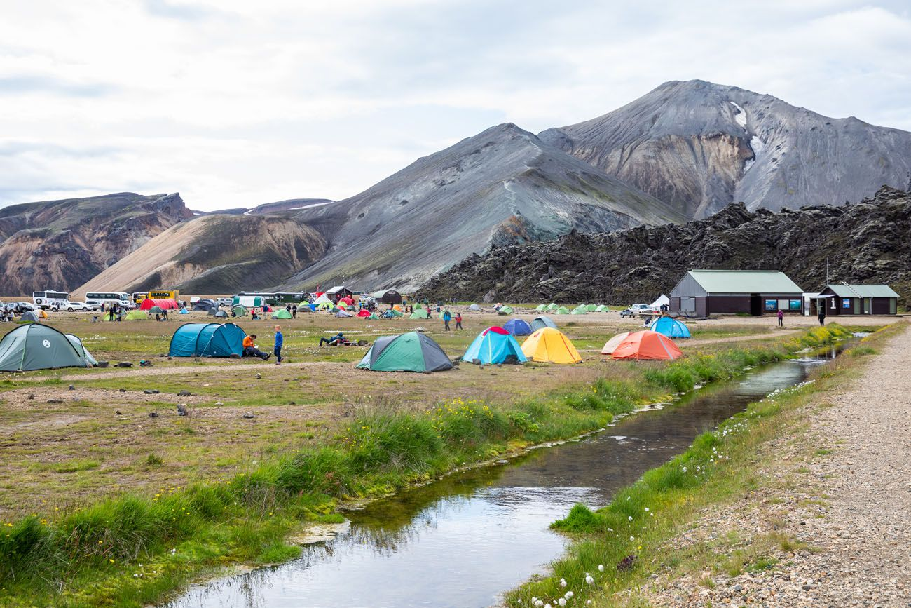 Landmannalaugar Campground