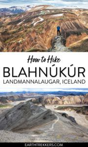 Landmannalaugar Hike Blahnukur Iceland