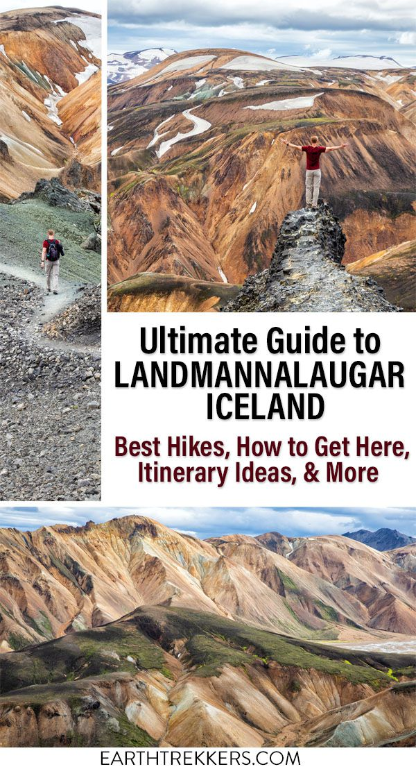 Landmannalaugar Iceland Travel Guide