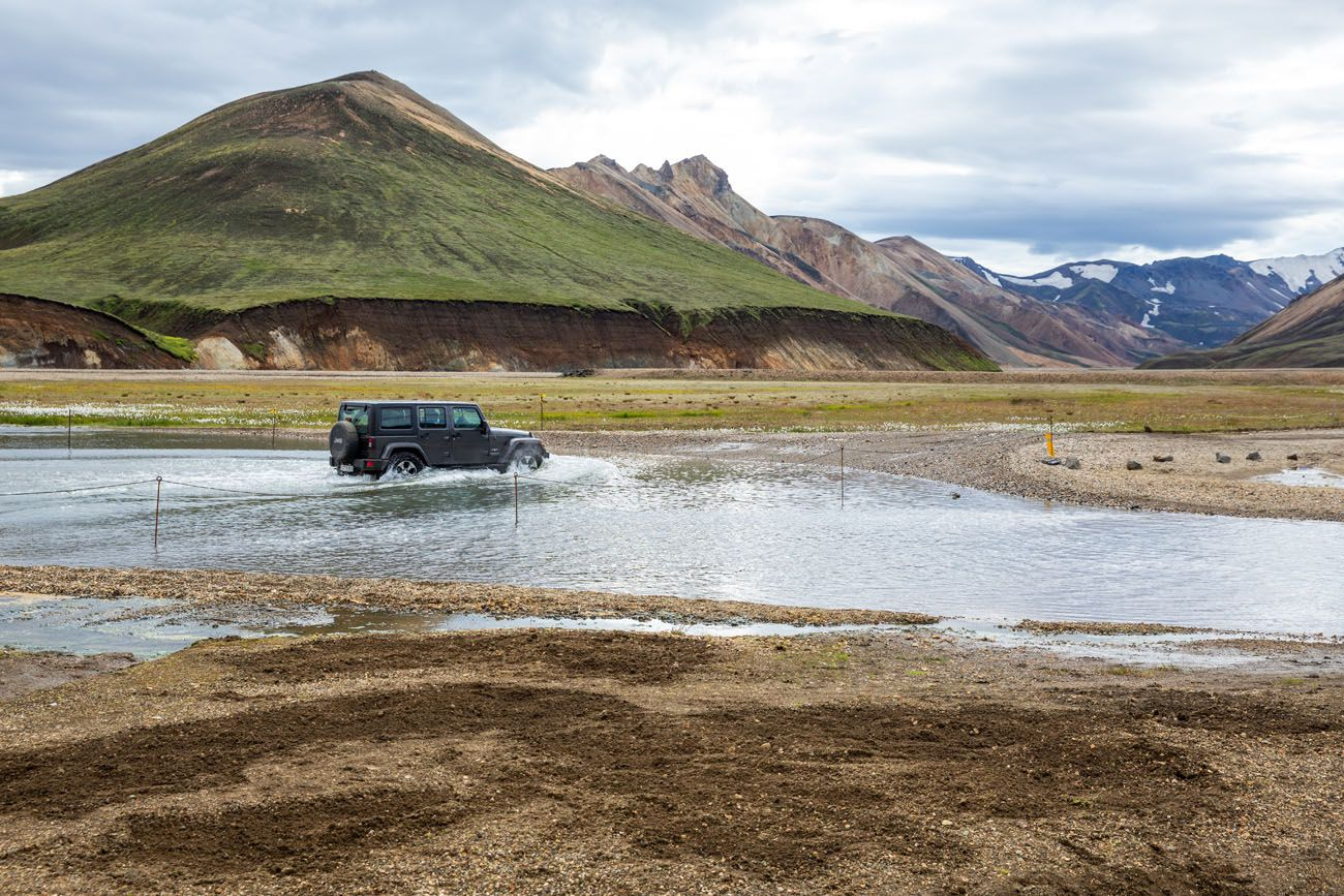 Landmannalaugar River Crossing