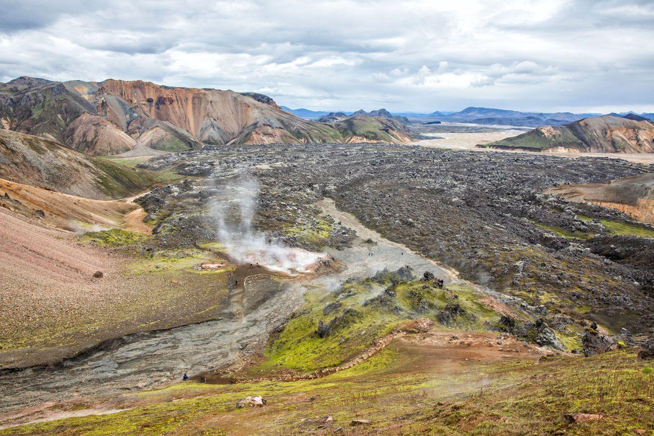 Laugahraun Iceland