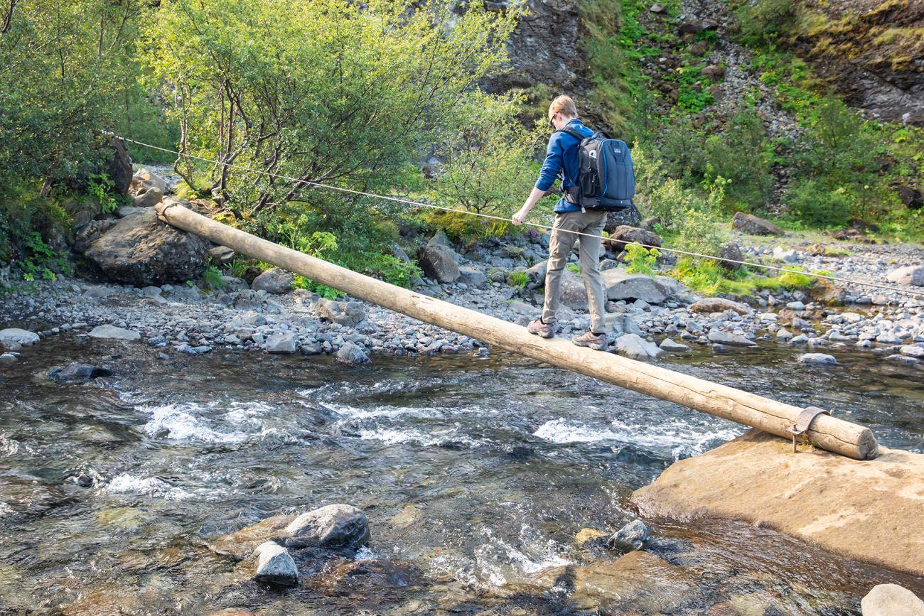 Log-Crossing-Glymur-Waterfall.jpg.optimal ▷ Cascada de Glymur: la guía completa de senderismo