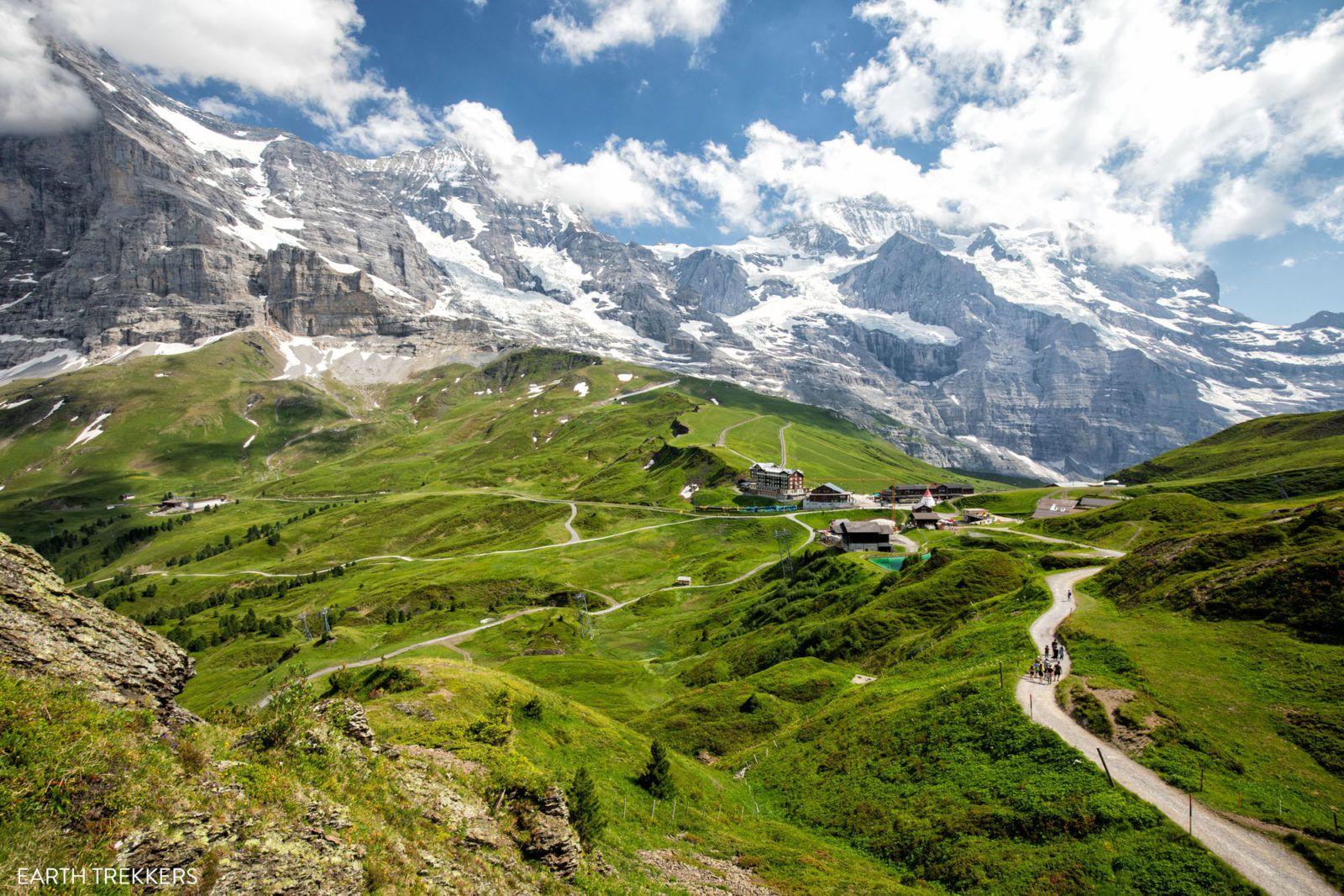 Mannlichen to Kleine Scheidegg Walk