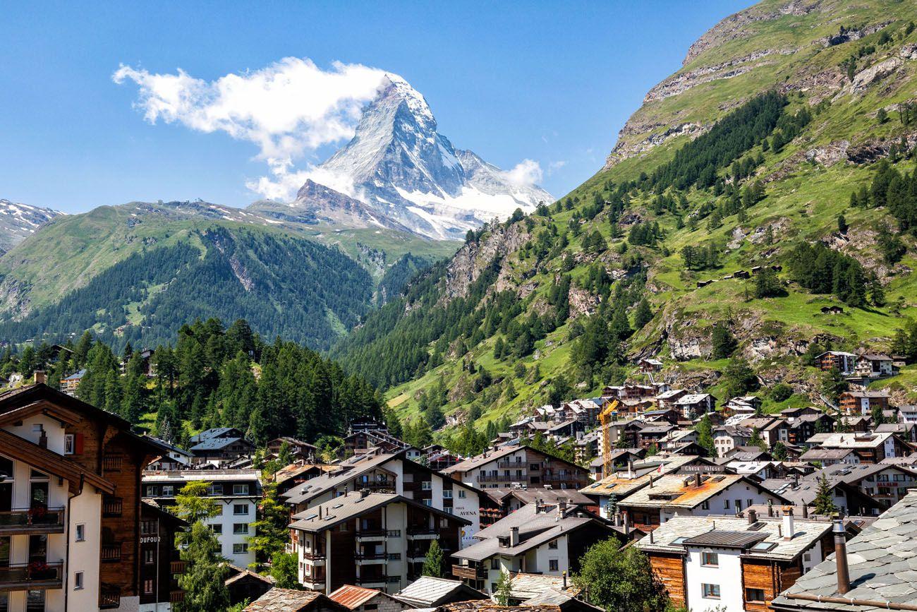 Matterhorn from Gornergrat Railway