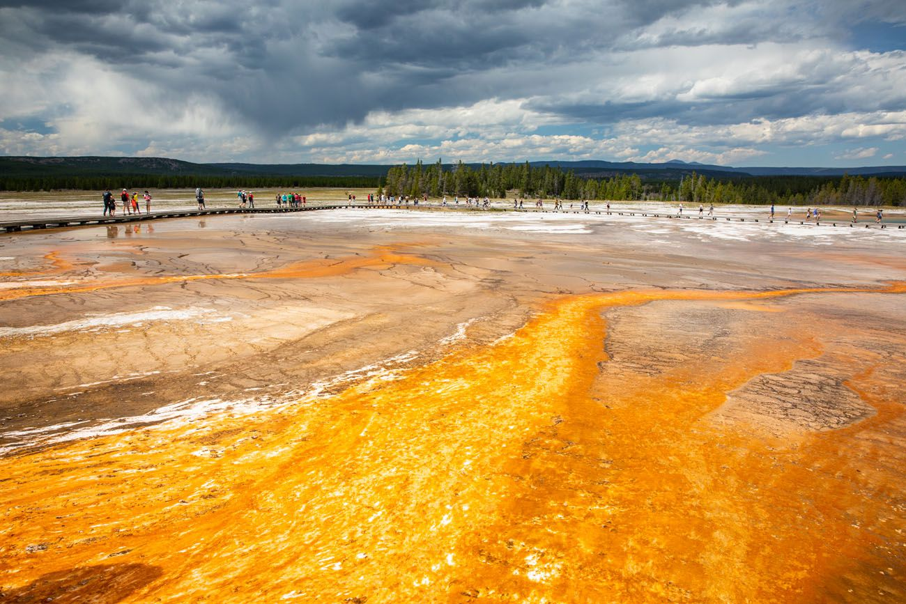 Midway Geyser Basin best things to do in Yellowstone