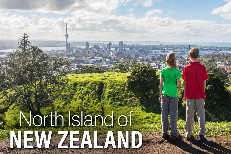 North Island of New Zealand