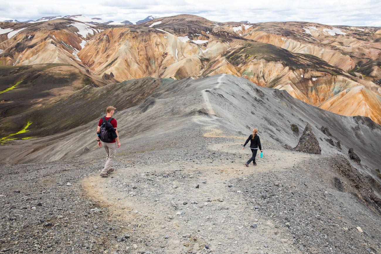 On the Blahnukur Trail