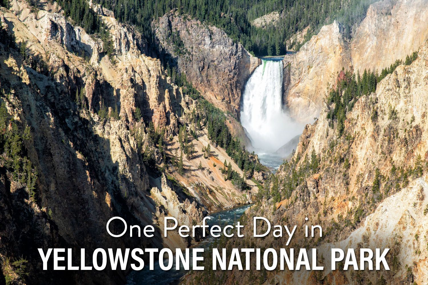 One Day in Yellowstone
