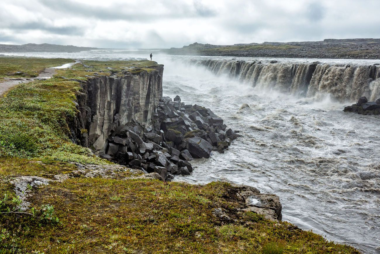 Selfoss in July