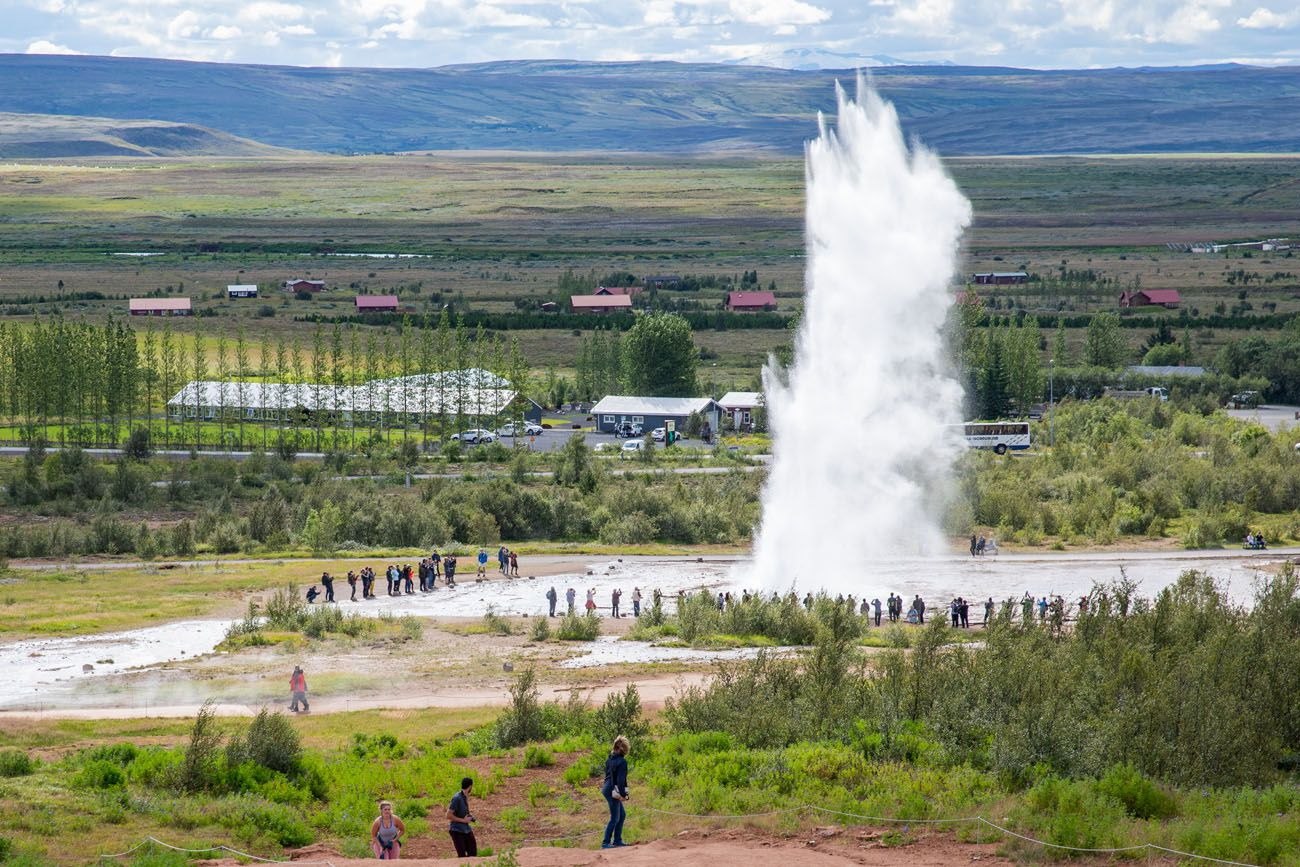 Strokkur best things to do in Iceland