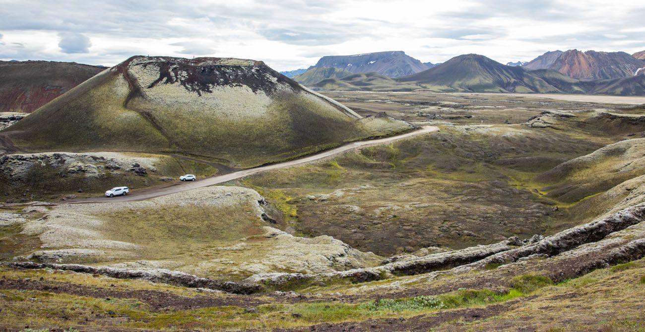 Stutur Landmannalaugar