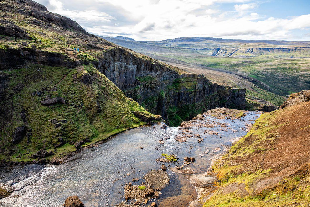 Top-of-the-Waterfall.jpg.optimal ▷ Cascada de Glymur: la guía completa de senderismo