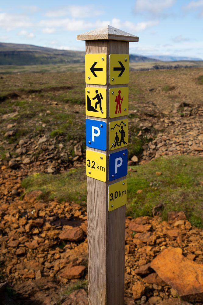 Trail-Sign.jpg.optimal ▷ Cascada de Glymur: la guía completa de senderismo